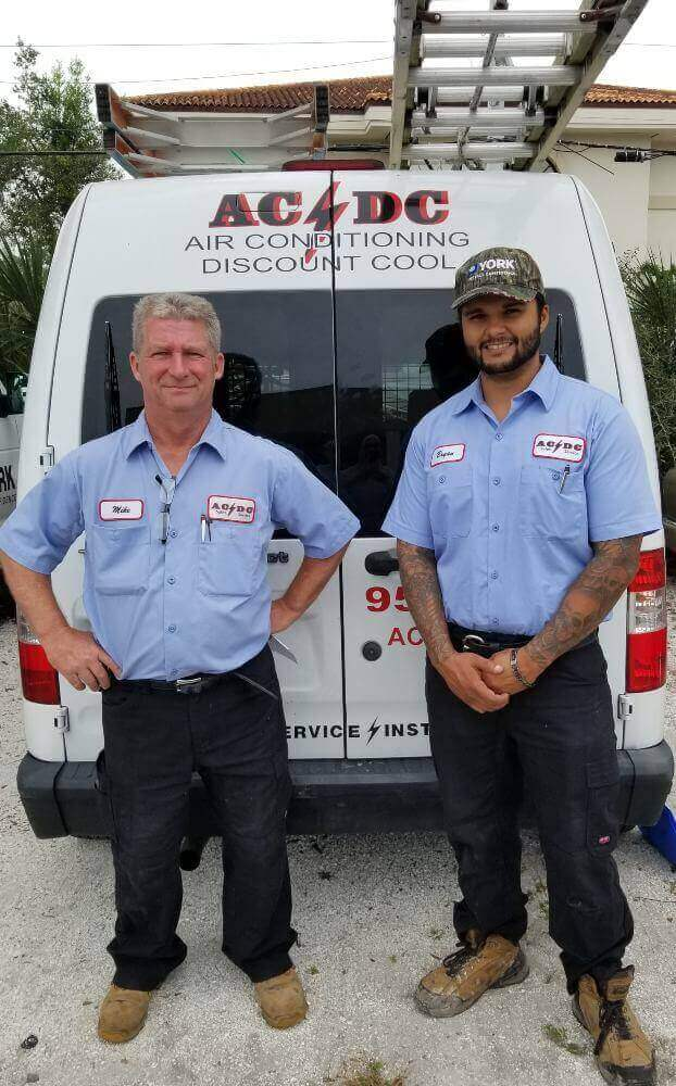 AC/DC Air Conditioning Discount Cool Technicians: Mike & Bryan